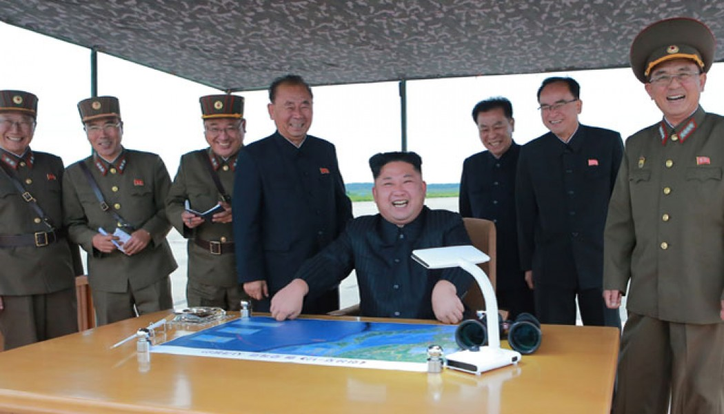 Kim Jong Un Guides Strategic Ballistic Rocket Launching Drill of KPA Strategic Force