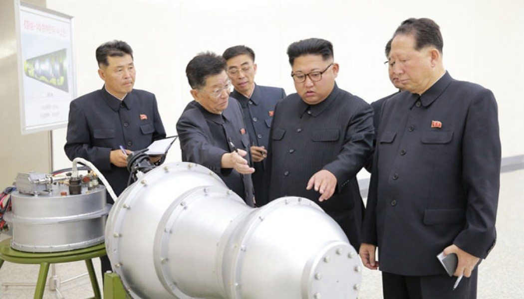 Kim Jong Un Gives Guidance to Nuclear Weaponization