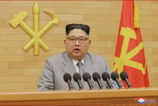 Kim Jong Un Makes New Year Address